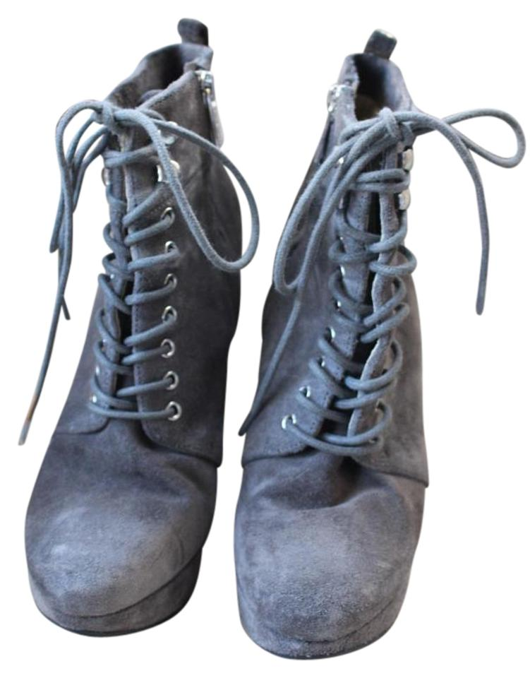 2ce83cb6d3f9 Michael Kors Gray Jada Suede In Boots/Booties Size US 6 - Tradesy