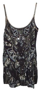 AllSaints Glitter Shift Dress
