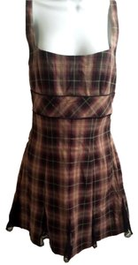Betsey Johnson short dress plaid school girl on Tradesy