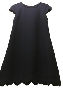 Monteau Los Angeles short dress navy Scallops Date Night on Tradesy