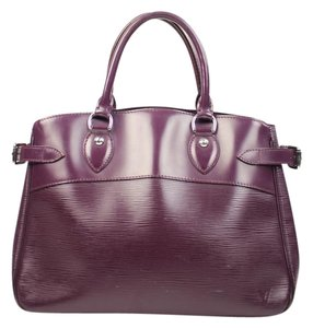 Louis Vuitton Passie Neverfull Alma Tivoli Satchel in Purple