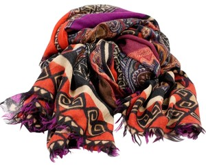 Etro CASHMERE PRINTED SCARF