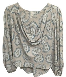 Free People Top Grey