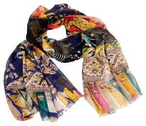 Etro SILK ABSTRACT SCARF