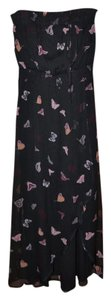 Black Butterfly Print Maxi Dress by Jessica Simpson