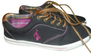 Baby Phat Tennis And Black with brown accents pink stitching Athletic