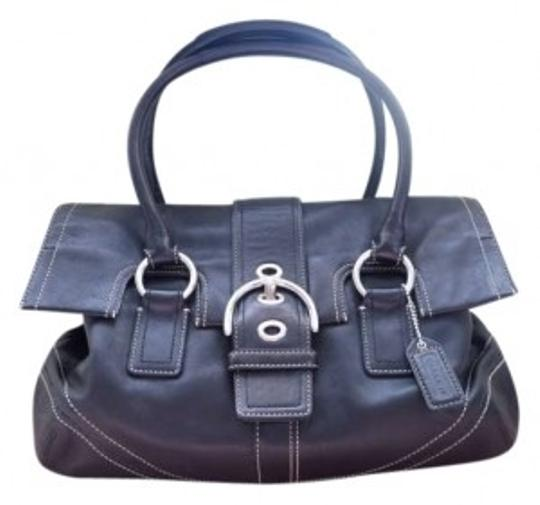 Preload https://item3.tradesy.com/images/coach-black-leather-shoulder-bag-169242-0-0.jpg?width=440&height=440