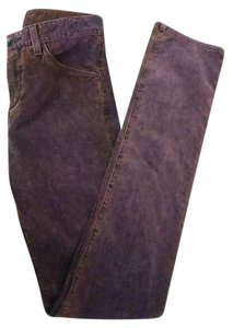Theory Theyskens Tt Cords Corduroy Warm Skinny Pants Purple