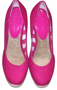 BCBGeneration Pink Wedges