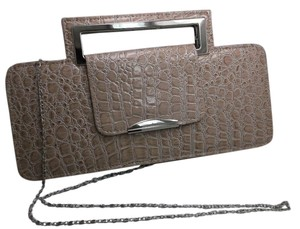 J. Francis Cream Clutch Free Shipping New Party Cross Body Bag