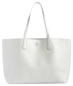 Tory Burch Tote in Silver/Iceberg