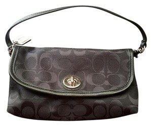 Coach black Clutch