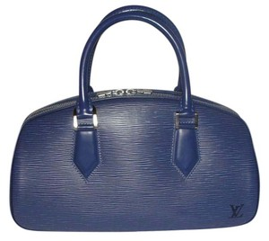 Louis Vuitton Epi Leather Jasmin Satchel in Blue