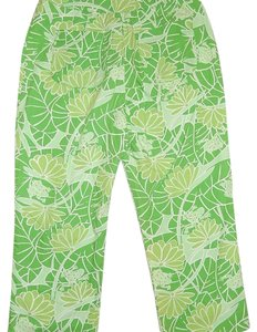 Lilly Pulitzer Capris Green