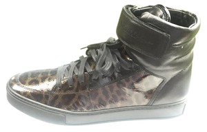 Saint Laurent Malibu Leopard Grane/Black Athletic