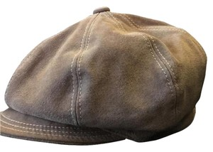 Liz Claiborne Suede News Boy Hat