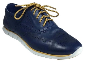 Cole Haan Navy Blue/Yellow Athletic