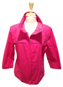Chico's Spring Sporty Fuschia Jacket