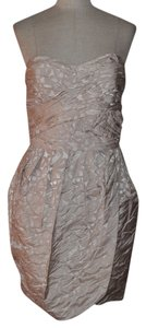 Max and Cleo Pebble Print Brocade Sweetheart Cocktail Party Ruched Dress