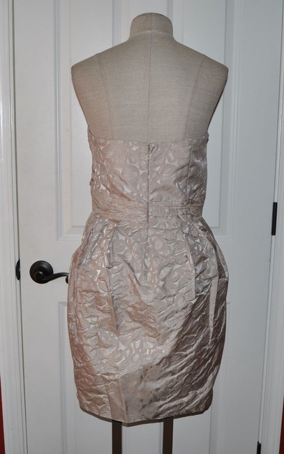 Max and Cleo Pebble Print Brocade Sweetheart Party Ruched Corset Dress