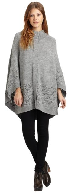 Item - Gray Girl Sold Out Knit Poncho/Cape Size 12 (L)