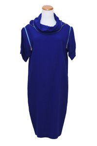 Jean-Paul Gaultier short dress blue on Tradesy