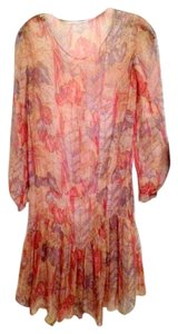 Other Chiffon Wedding Guest Sheer Vintage Dress