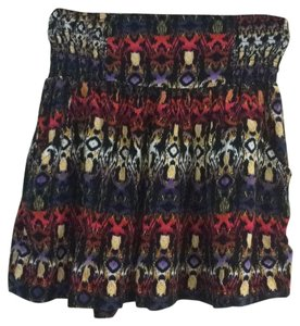 Xhilaration Mini Skirt Multicolor