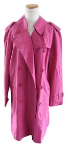 Burberry Pink Trent Trench Coat