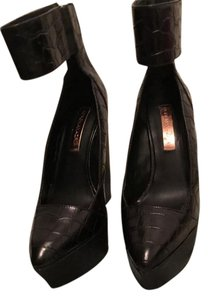 BCBGMAXAZRIA Black Wedges