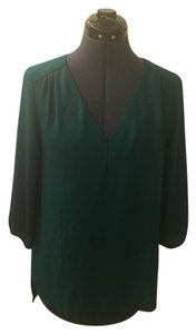 H&M 3/4 Sleeve Top Green
