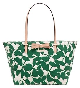 Kate Spade Tote in Lucky Green Garden Leaves