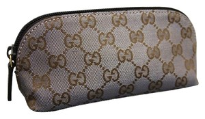 Gucci Makeup Brown Clutch
