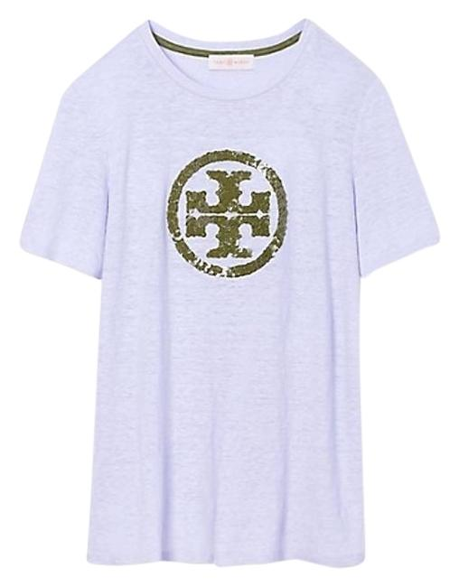 Tory burch demi french lavender t shirt 19 off retail for Tory burch t shirt