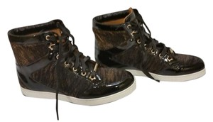 Jimmy Choo Black/Gold Tone Athletic