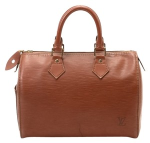 Louis Vuitton Epi Leather Purse Satchel in Brown