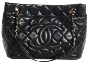Chanel Timeless Grand Shopping Tote in Black