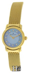 Blancpain Ladies Blancpain Ladybird 18K Yellow Gold 21MM MOP Diamond Mechanical Watch