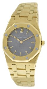 Piguet Authentic Ladies Audemars Piguet Royal Oak 18K Yellow Gold 26MM Quartz Watch