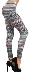 J and L Multi colored Leggings