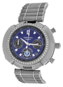 Geneve Men's Montega Geneve MC01 No.1999 Chronograph Date Diamond Automatic