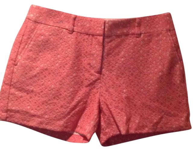 Item - Coral Pink/Tan Lace Shorts Size 6 (S, 28)