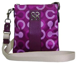 Coach Swingpack Op Art Signature C Cross Body Bag
