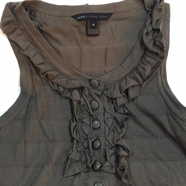 Marc by Marc Jacobs Top Olive Green Image 2