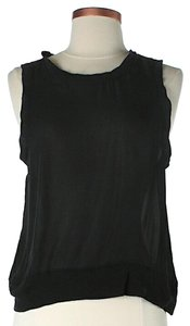 A.L.C. Silk Top Black