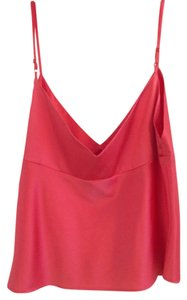 Moda International 92% Silk Top coral