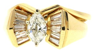 Other 14k gold 1.05 ct diamond bridal set