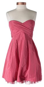 BCBGMAXAZRIA Strapless Fit & Flare Dress