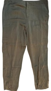 Joie Capri/Cropped Pants Olive Green