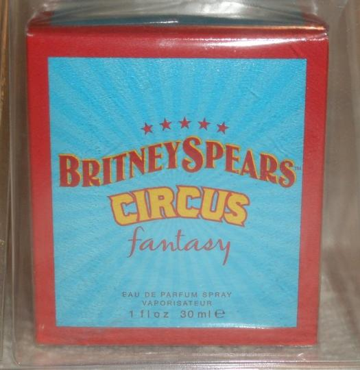 Brittany Spears Circus Fantasy Perfume Brittany Spears Circus Fantasy Fragrance Perfume NIB